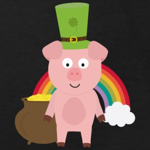 Pork with Patrick's day Hat Shirts - Kids' Organic T-shirt