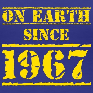 on earth since 1967 50. Geburtstag 50th birthday T-Shirts - Frauen Premium T-Shirt