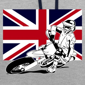 Supermoto - Union Jack Hoodies & Sweatshirts - Contrast Colour Hoodie
