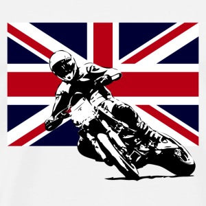 Supermoto - Union Jack T-Shirts - Men's Premium T-Shirt