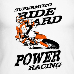 Supermoto Racing Long sleeve shirts - Men's Long Sleeve Baseball T-Shirt