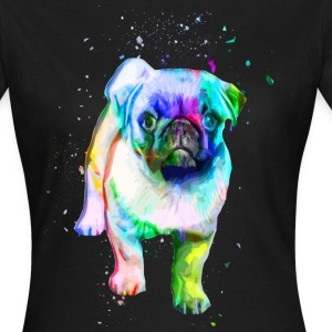 Mops Pug Shirt - Frauen T-Shirt