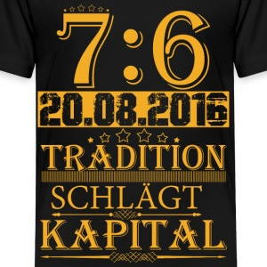 Tradition schlägt Kapital T-Shirts - Teenager Premium T-Shirt
