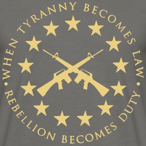 tiranny_rebellion t-shirt - Men's T-Shirt