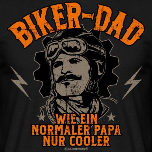 Biker Dad - Geburtstags Geschenk - RAHMENLOS Shir