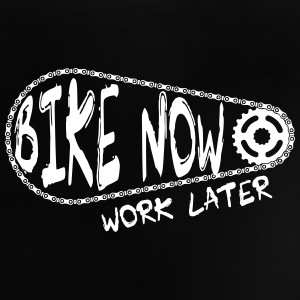 bike now work later Baby T-Shirts - Baby T-Shirt