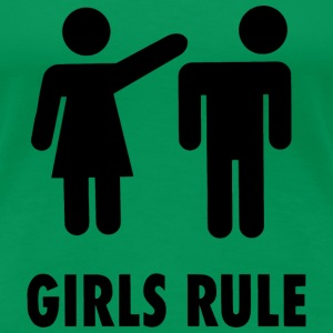 Girls Rule T-Shirts - Frauen Premium T-Shirt