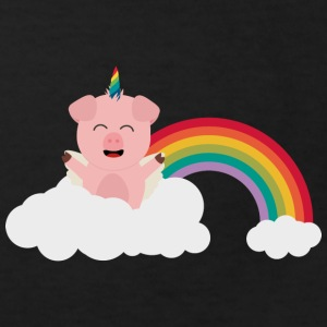 Unicorn-pig on cloud Shirts - Kids' Organic T-shirt