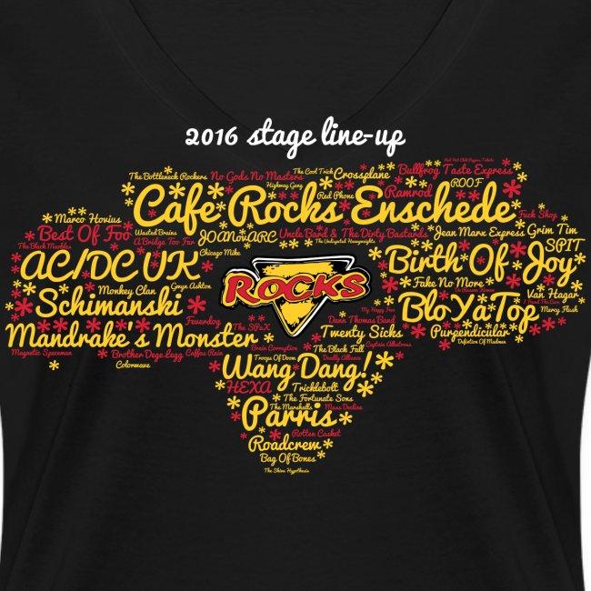 2016 Stage Line-Up (V-Neck Ladies)