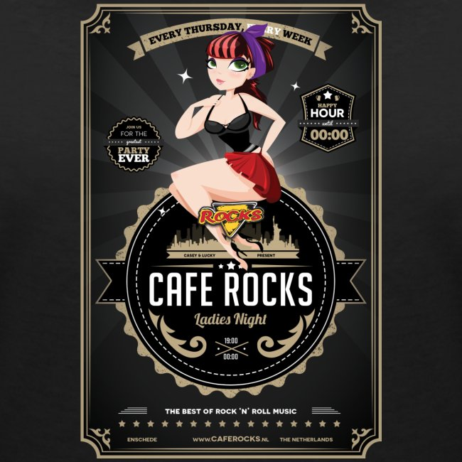 Rocks Ladies Night (V-Neck Ladies)