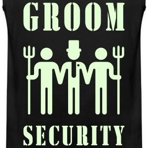 Groom Security (Bachelor Party / Stag Night) Sports wear - Men's Premium Tank Top