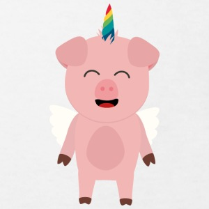 Pork with Unicorn Shirts - Kids' Organic T-shirt