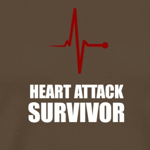 Heart Attack Survivor - Männer Premium T-Shirt