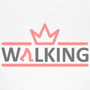 Walking Logo I T-Shirts - Frauen T-Shirt