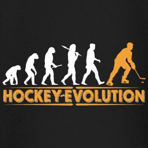 Hockey Evolution - orange/weiss Långärmade T-shirts baby - Långärmad T-shirt baby