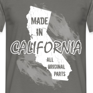 Made in California all original parts  - Men's T-Shirt