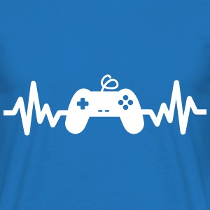 Gaming is life - geek game nerd  - Männer T-Shirt