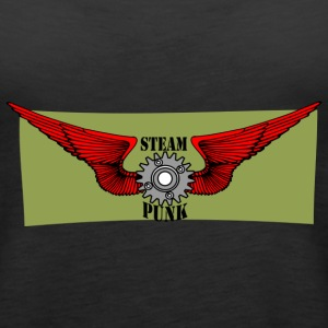 Steam Punk - Women's Premium Tank Top