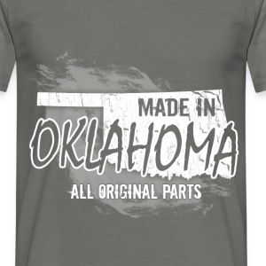 Made in Oklahoma all original parts  - Men's T-Shirt