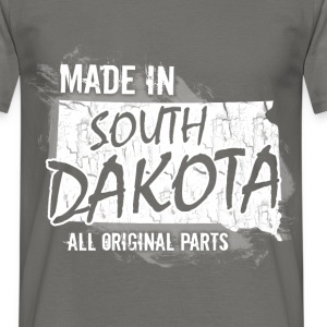 Made in South Dakota all original parts  - Men's T-Shirt