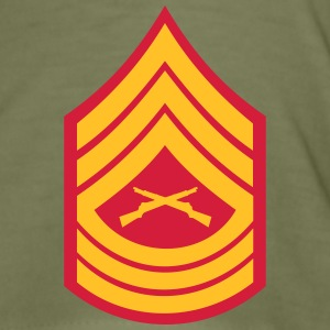 Master Sergeant MSgt, Mision Militar ™ T-Shirts - Men's Slim Fit T-Shirt