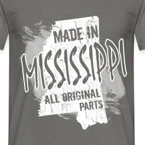 Made in Mississippi all original parts  - Men's T-Shirt