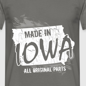 Made in Iowa all original parts  - Men's T-Shirt