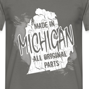 Made in Michigan all original parts  - Men's T-Shirt