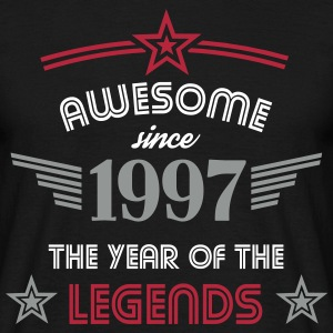 Awesome since 1997 - Männer T-Shirt