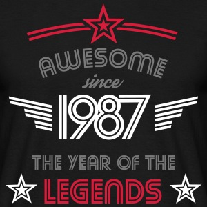 Awesome since 1987 - Männer T-Shirt