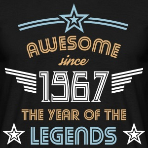 Awesome since 1967 - Männer T-Shirt