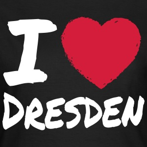 I Love Dresden T-Shirts - Frauen T-Shirt