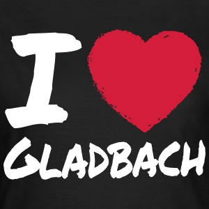 I Love Gladbach T-Shirts - Frauen T-Shirt