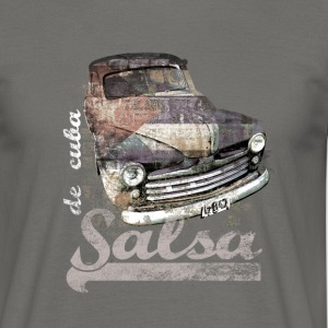 salsa your live | tanzshirts  - Men's T-Shirt