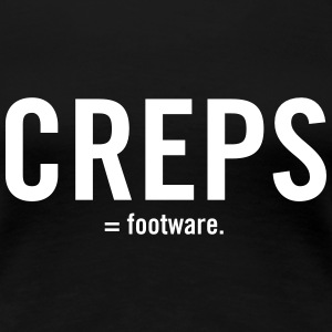 Creps - Ladies Black Tee - Women's Premium T-Shirt