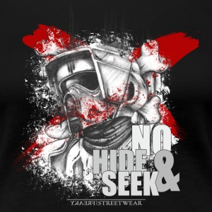 No Hide & Seek T-shirts - Dame premium T-shirt