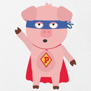 Super Hero-pig Shirts - Kids' Organic T-shirt