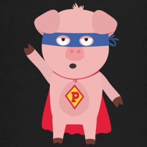 Super Hero-pig Baby Long Sleeve Shirts - Baby Long Sleeve T-Shirt