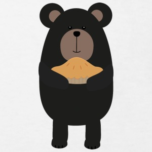 Black bear cake Shirts - Kids' Organic T-shirt