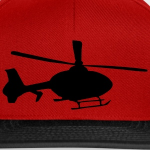 Helicopter Caps & Hats - Snapback Cap