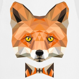 fuchskopf fly fox wild animal forest low poly  Aprons - Cooking Apron
