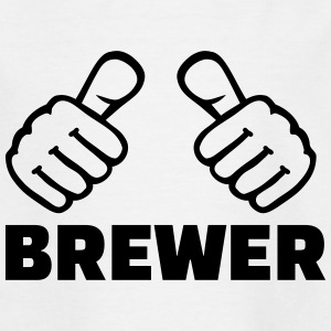 Brewer T-Shirts - Kinder T-Shirt