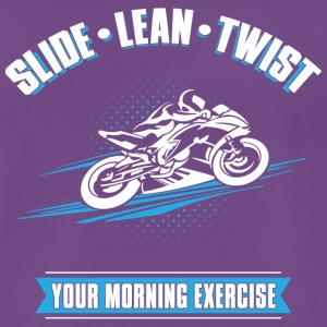 Slide Lean Twist - Männer Premium T-Shirt