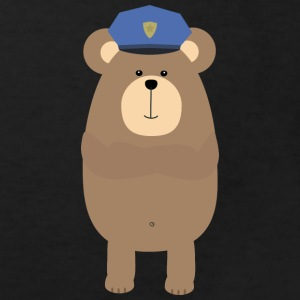 Brown bear police Shirts - Kids' Organic T-shirt