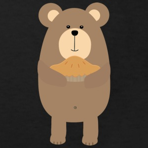Brown bear cake Shirts - Kids' Organic T-shirt