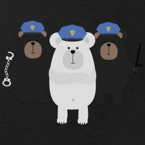 Escouade COP Grizzly Tee shirts - T-shirt Bio Enfant
