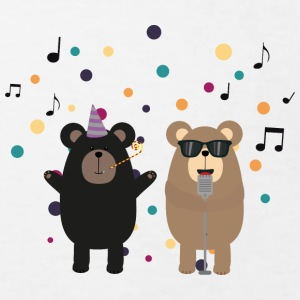 Bear party musique Tee shirts - T-shirt Bio Enfant
