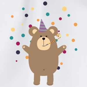 Party Brown bear Tassen & rugzakken - Gymtas