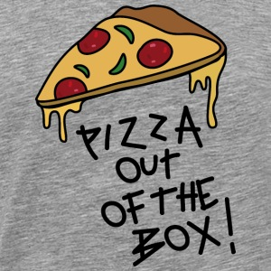 Pizza out of the Box_v1 T-Shirts - Männer Premium T-Shirt