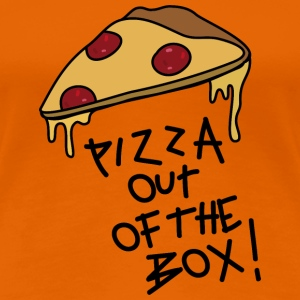 Pizza out of the Box_v2 T-Shirts - Frauen Premium T-Shirt